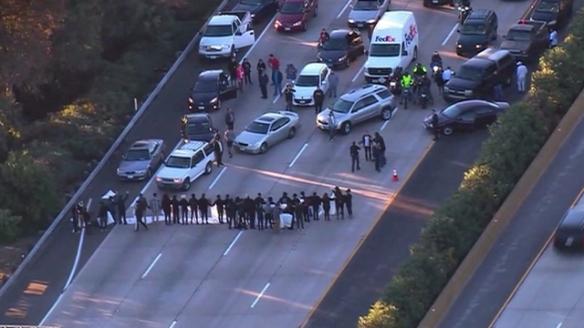 san-diego-5-freeway-protest