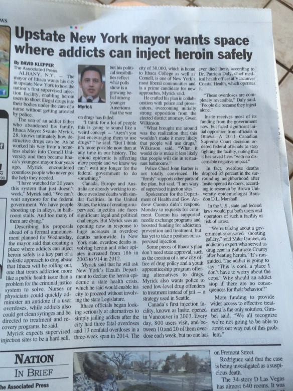 Heroin safety?